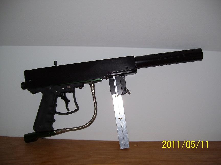 pneumatic bb machine gun